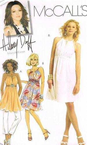 MCCALLS #5880 Uncut Sz 12-18 Sleeveless Tunic or Dress w/ Cut-a-way Armholes