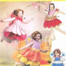 MCCALLS #6813 Uncut Child Sz 2-5 Fairy Costumes