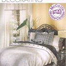 MCCALLS #2017 Uncut Bedroom Reversible Duvet, Curtains & Shams