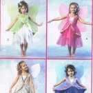 MCCALLS #4887 Uncut Child Sz 2-5 Fairy Costumes w/Wings