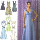 SIMPLICITY #2442 Uncut Sz 6-14 Day or Evening Dress; Bodice Variations & Bolero
