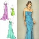 SIMPLICITY #2252 Uncut Sz 4-12 Evening/Prom Dress; Bodice & Length Variation