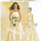 MCCALLS #5807 Uncut Sz 6-12 Bridal or Formal Wear Tops, Skirts & Sash