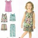 SIMPLICITY #2238 Uncut Child Sz 3-8 Skirt, Cropped Pants, Dress & Tops