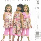MCCALLS #6064 Uncut Child Sz 2-5 Bolero, Dress, Jumpsuit and Pants