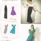 SIMPLICITY #2549 Uncut Sz 6-14 Close-fit Evening or Day Dress; 2 Lengths