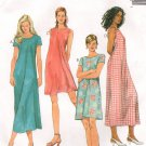 MCCALLS #8108 Uncut Sz 10-14 Pullover Summer Dresses in 2 Lengths