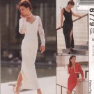 MCCALLS #6779 Sz 12-16 Fit Dress w/Sleeve & Hemline Variations & Lined Bolero Sewing Pattern