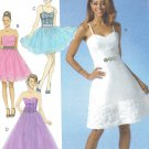 MCCALLS #7049 Uncut Sz 6-14 Close-fit Bodice Dress; Two Lengths
