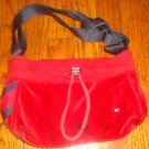 Tommy Hilfiger Red and Blue Jersey Purse