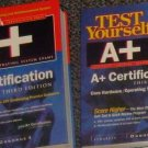 A+ Certification. Study Guide. 3rd Ed. with Test Yourself Exams Books.(Hardcover)