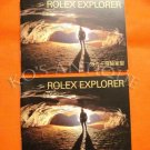 2 ROLEX EXPLORER BOOKLETS 114270 16570 (English, Chinese )