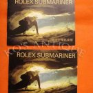 2 ROLEX SUBMARINER BOOKLETS 16610 16600   (English, Chinese )