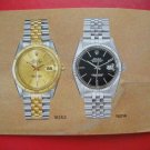 Vintage 1984 ROLEX DATEJUST English Booklet 16014,68278