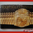 Vintage 1989 ROLEX Your Rolex Oyster English Booklet