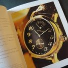 Vintage 1998/99 MONT BLANC WATCHES & JEWELLERY ENGLISH BOOKLET
