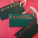 Vintage Collectible 3 different types of  ROLEX OYSTER  SWIMPRUF HANG TAGS