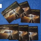 Genuine Rolex Explorer Set 1 :(2002-2007) total 6 English Booklets 114270 16570