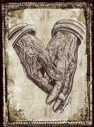 """Hands of Prayer"""
