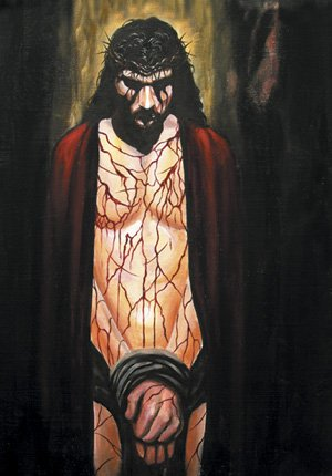"""Crimson Love"" - {18x24"" - Gallery Canvas Art}"
