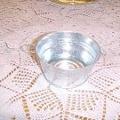 Round Metal Wash Tub