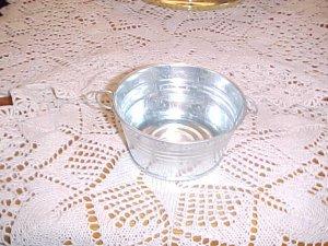 Round Metal Wash Tub