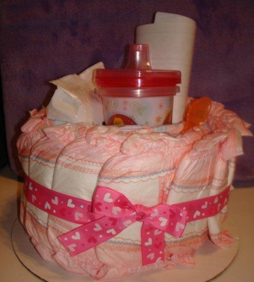 DISNEY PRINCESS PULL-UPS CAKE ~ GIRL