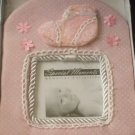 Pink Baby Girl Photo Frame Baby Shower Gift