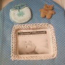 Blue Baby Boy Photo Frame Baby Shower Gift