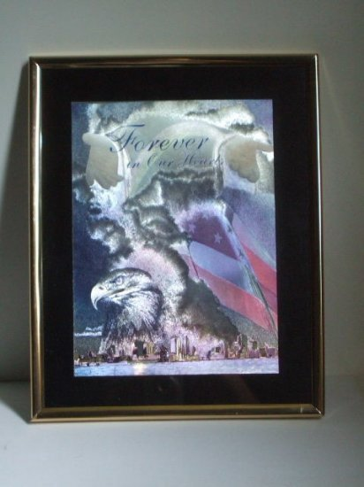 911 Foil Print New York Tragedy Wall Decor