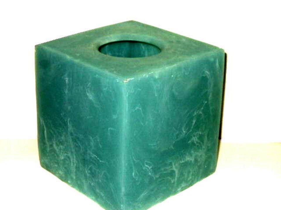 Nick Munro Blue Mode Resin Tissue Box Cover