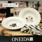 Fat Chef Soup Bowls Chefs to Go Garant Oneida Set 2