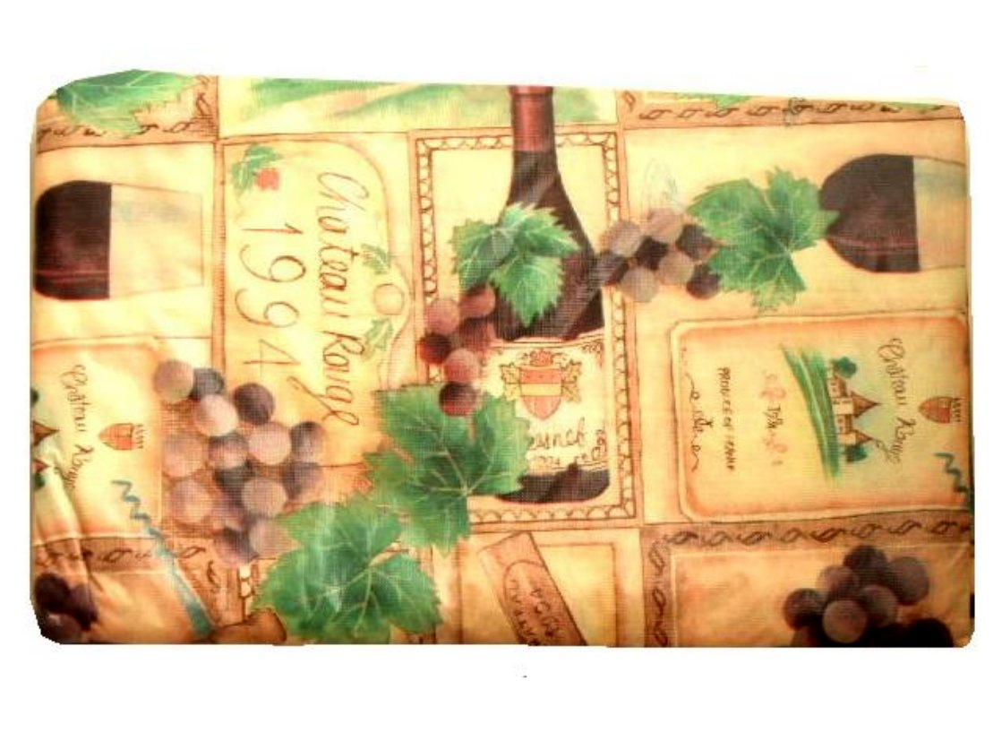Wine Grapes Peva Tablecloth 60 In Round