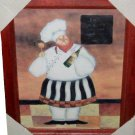 Fat French Chef Picture Chefs Wall Decor