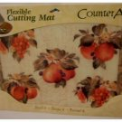 Fruit Cutting Mat Grapes Apples Pears Peaches