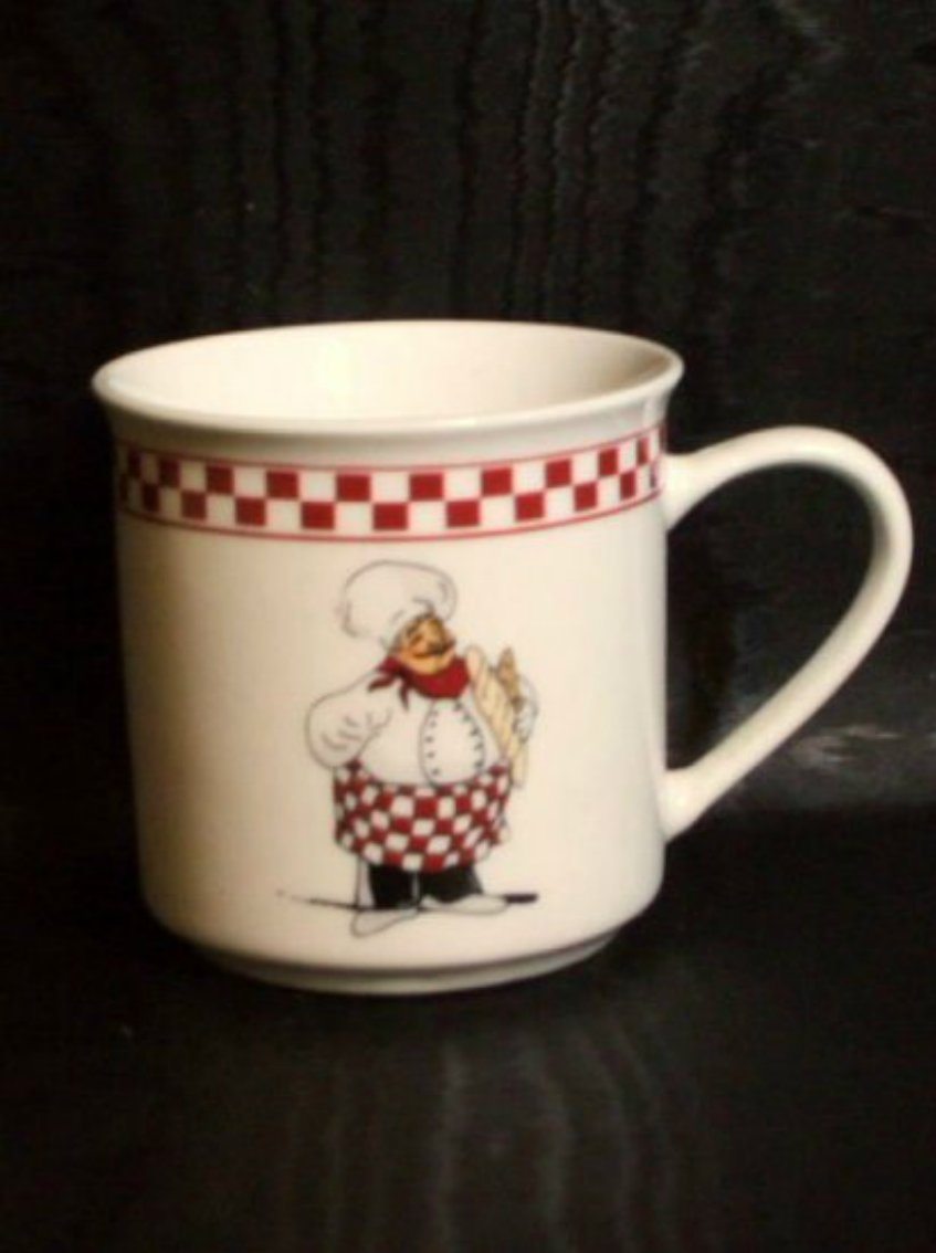 Italian Chef Decorations Kitchen Fat Italian Chef Coffee Mugs Chefs Kitchen Decor