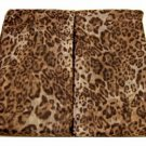 Animal Print Leopard Curtain Panels Set