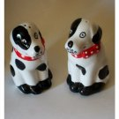 Dalmation Puppy Salt Pepper Shakers Set