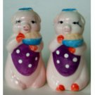 Pig Chef Salt Pepper Shakers Set