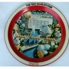 Vintage Coca-Cola 1982 World's Fair Metal Tray