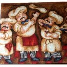 Fat Italian Chefs Tapestry Table Runner