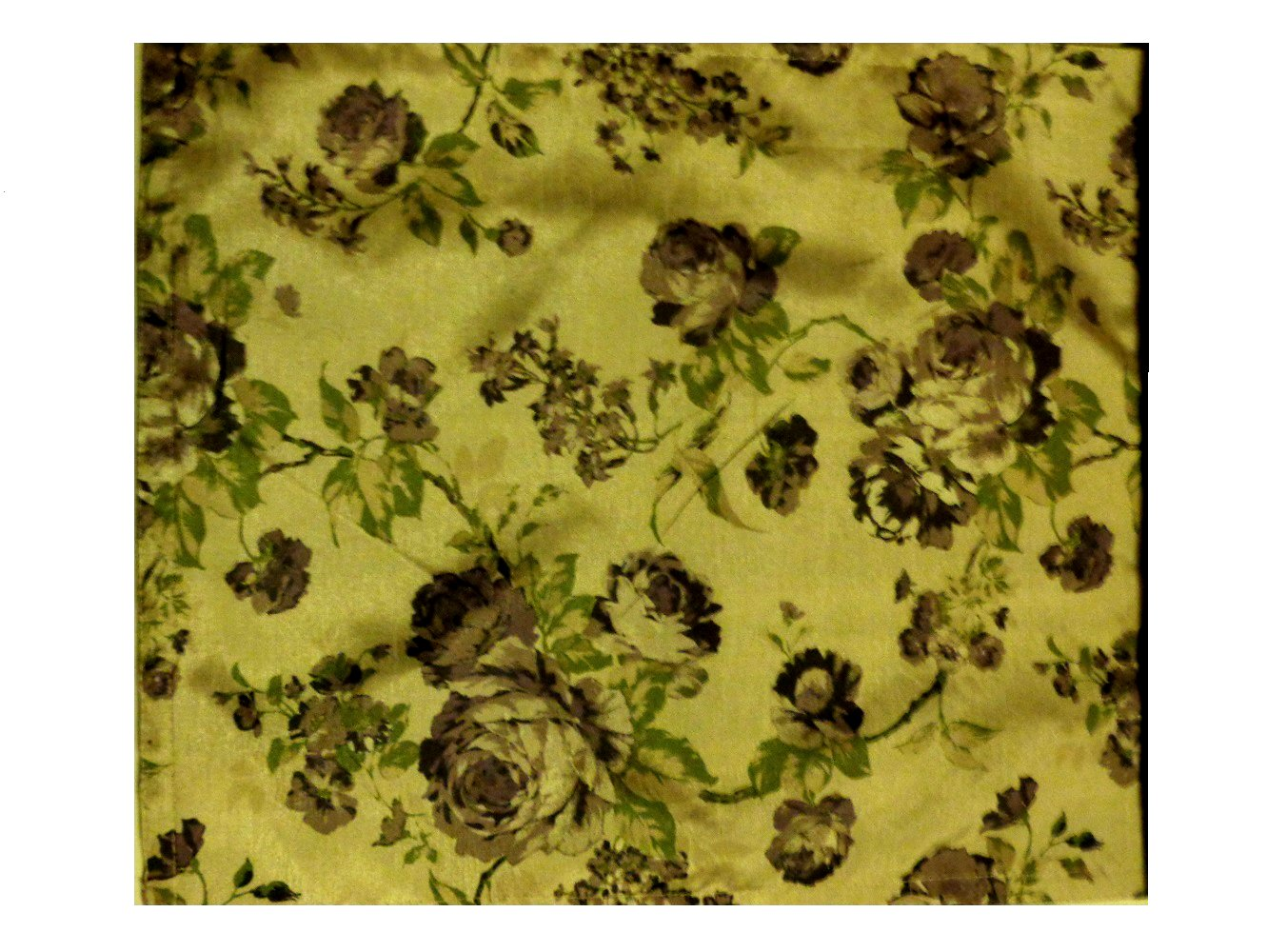 Floral Roses Printed Table Runner