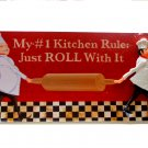 Fat Chef Kitchen Plaque Wall Sign