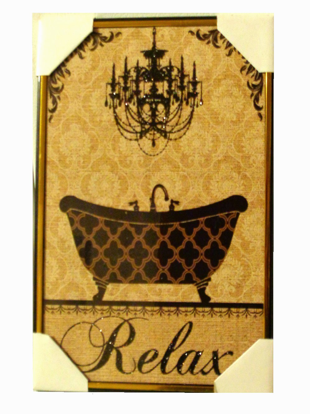 Claw Foot Bath Tub Inspirational Relax Bathroom Wall Art