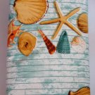 Seashells Starfish Vinyl Tablecloth Round