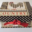 Country Rooster Box Keepsakes Jennifer Pugh