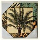 Tropical Palm Tree Canvas Wall Art