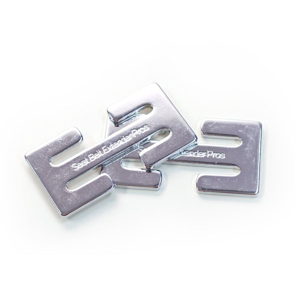2 Frankie Clip Seat Belt Adjusters - comfortable & safe