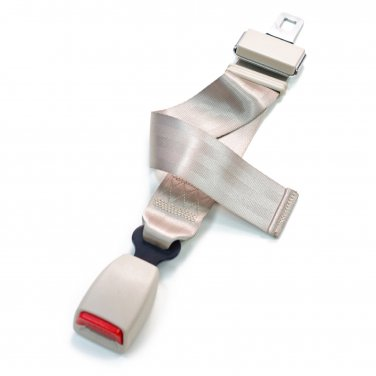 Adjustable Seat Belt Extension - Type B - Beige