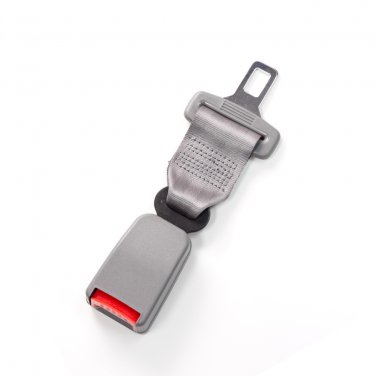 "7"" Seat Belt Extender - Type T - Gray"